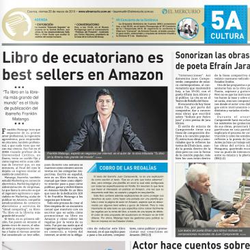 Diario el Mercurio Libro ecuatoriano es Best Sellers