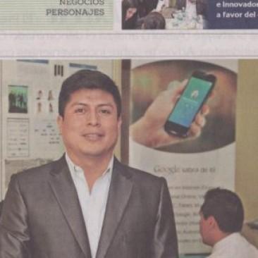 Revista Lideres entrevista Ingeniero Franklin Matango